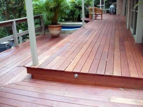 Decking materials best timber decking material for Australian hardwood decking